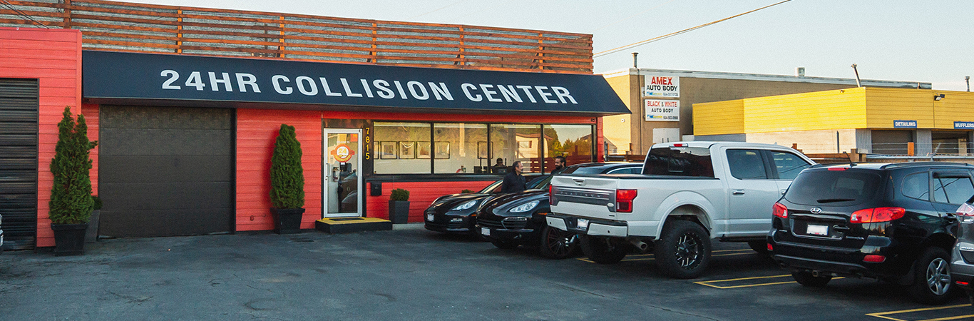 24HR Collision Center Surrey Location